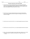 AP Chemistry Resonance Structures and Formal Charge Worksheet