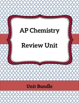 AP Chemistry Review Unit
