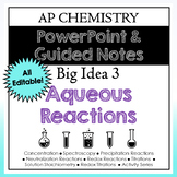 AP Chemistry Solutions PowerPoint and Guided Notes