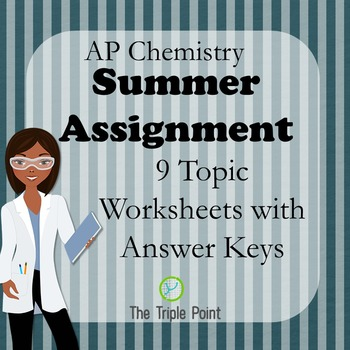 AP Chemistry Summer Assignment