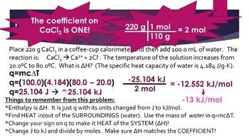 AP Chemistry Thermochemistry Powerpoint