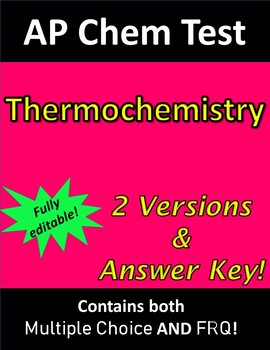 Thermochemistry Test Worksheets & Teaching Resources   TpT
