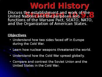 AP Cold War: Alliances
