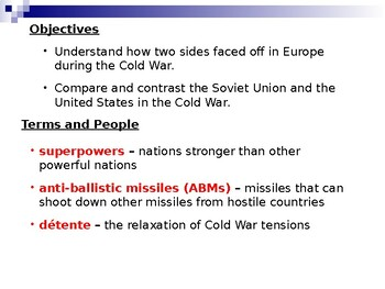 AP Cold War: Dissidents and the Red Scare