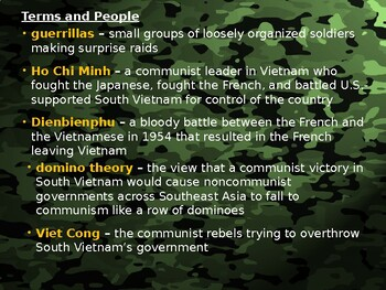 AP Cold War: Vietnam War Beginnings