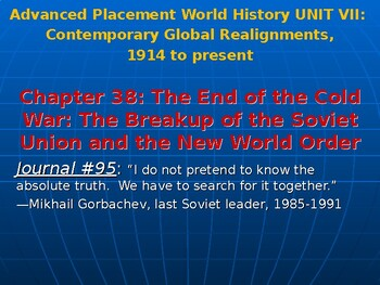 AP Cold War's End: The Fall of the Soviet Union