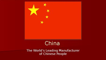 AP Comparative Government China PowerPoint