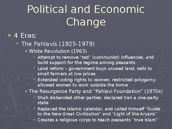 AP Comparative Government Iran PowerPoint