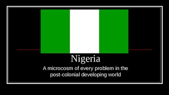 AP Comparative Government Nigeria PowerPoint