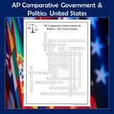 AP Comparative Government & Politics United States of America Crossword Puzzle