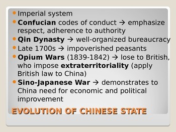 AP Comparative Politics: China's Government