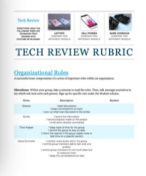 AP Computer Science - Tech Review Unit