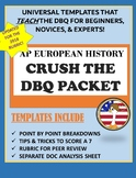 AP EUROPEAN HISTORY CRUSH THE DBQ: Template & Analysis Sheet