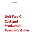 AP Econ Cost and Production Unit Teacher's Guide