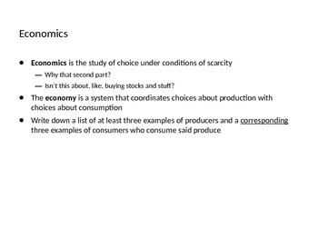 AP Economics Lessons (Micro and Macro, Full Year Course)