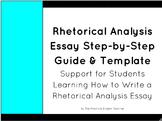 Rhetorical Analysis Essay Templates