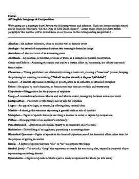 AP English Language Civil Disobedience Scavenger Hunt