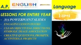 AP English Language & Composition Lessons in PowerPoint (E