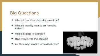 AP English Language Equality Unit