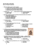 AP English Language Exam / Rhetoric & Propaganda Comprehensive