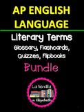 AP English Language Literary Terms Bundle
