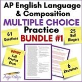 AP English Language Multiple Choice Mini Practice BUNDLE #