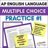 AP English Language Multiple Choice Mini Practice Set #1