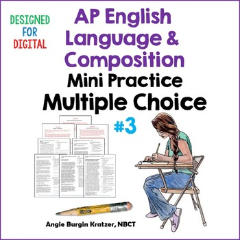 AP English Language Multiple Choice Mini Practice Set #3