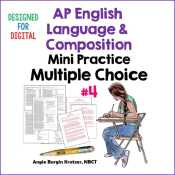 AP English Language Multiple Choice Mini Practice Set #4