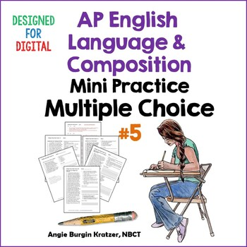 AP English Language Multiple Choice Mini Practice Set #5