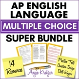 AP English Language Multiple Choice Super BUNDLE