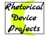 AP English Language Rhetorical Device Magazine/Music Projects