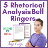 5 Rhetorical Analysis Bell Ringers