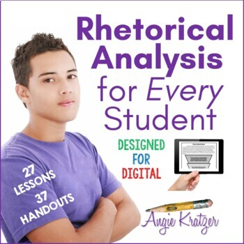 Rhetorical Analysis for Every Student (Style Analysis)