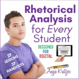 Rhetorical Analysis for Every Student {Rhetorical Devices} Distance Learning