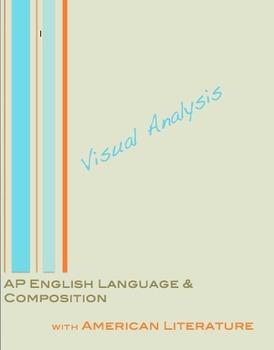 AP English Language Visual Image Analysis Organizer for Christmas
