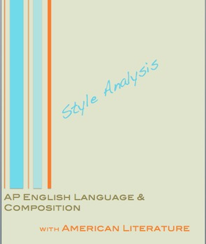 AP English Language and Composition:  Style Analysis Scarl