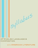 AP English Language and Composition Syllabus with American