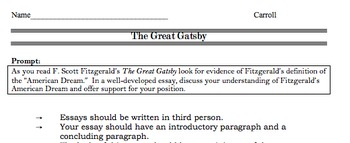 ap english language and composition the great gatsby bundle tpt ap english language and composition the great gatsby bundle