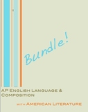 AP English Language and Composition (with American Literature) Bundle!