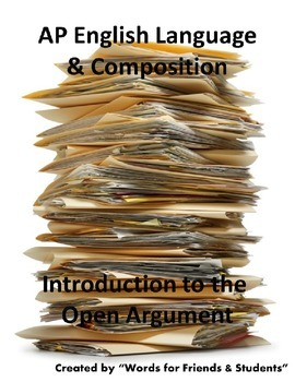 AP English Language open argument introduction