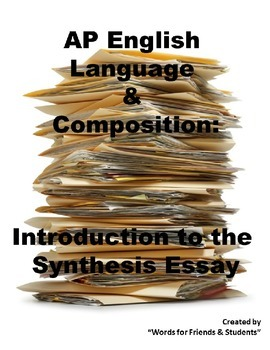 AP English Language synthesis essay introduction