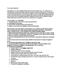 AP English Lit. nine-week essay plan