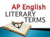 AP English Literary Terms powerpoint review