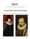 Masters of the Essay: Francis Bacon and Michel de Montaigne
