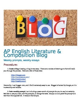 AP English Literature & Composition Blog