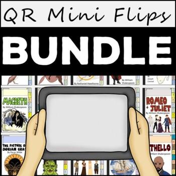 AP English Literature and Composition: Major Works QR Mini Flips Bundle