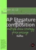 AP™ English Multiple Choice Reading Strategy: Prose Litera