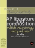 AP™ English Multiple Choice Reading Strategy bundle: (5) poetry/prose analysis