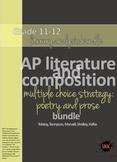 AP™ English Multiple Choice Reading Strategy bundle: (5) poetry/prose analysis